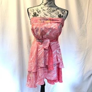 Accessories - Swim Wrap Coverup Pink Floral Versatile